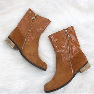 Matt Bernson Cognac Dakota Boots Sz 8